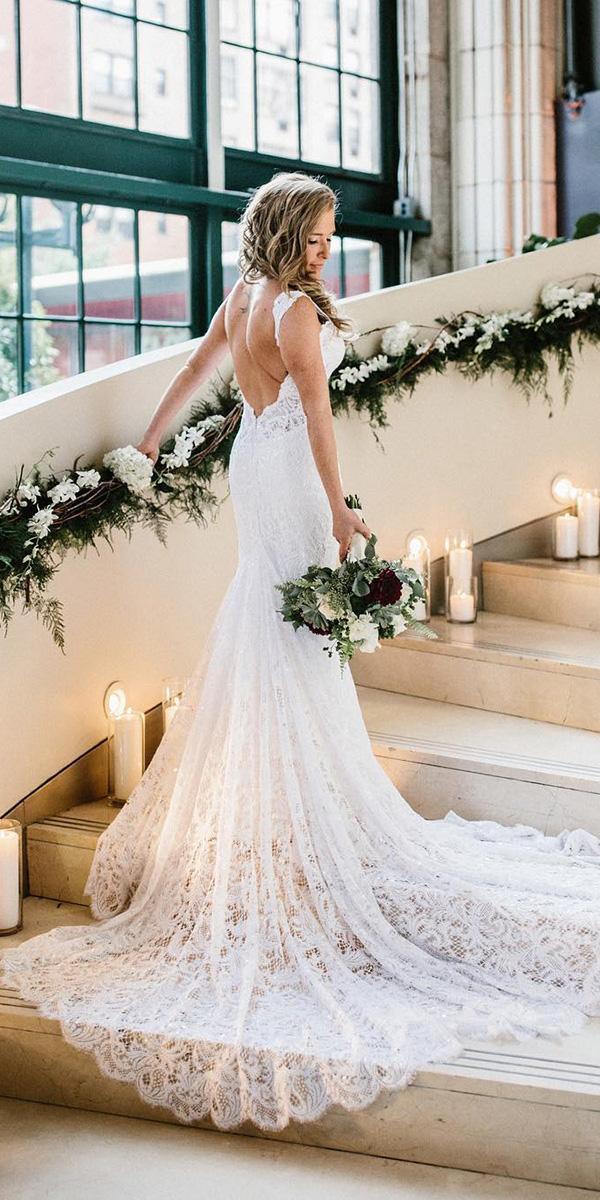 pnina tornai wedding dresses sheath full lace low back