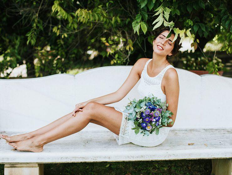 short wedding dresses featured
