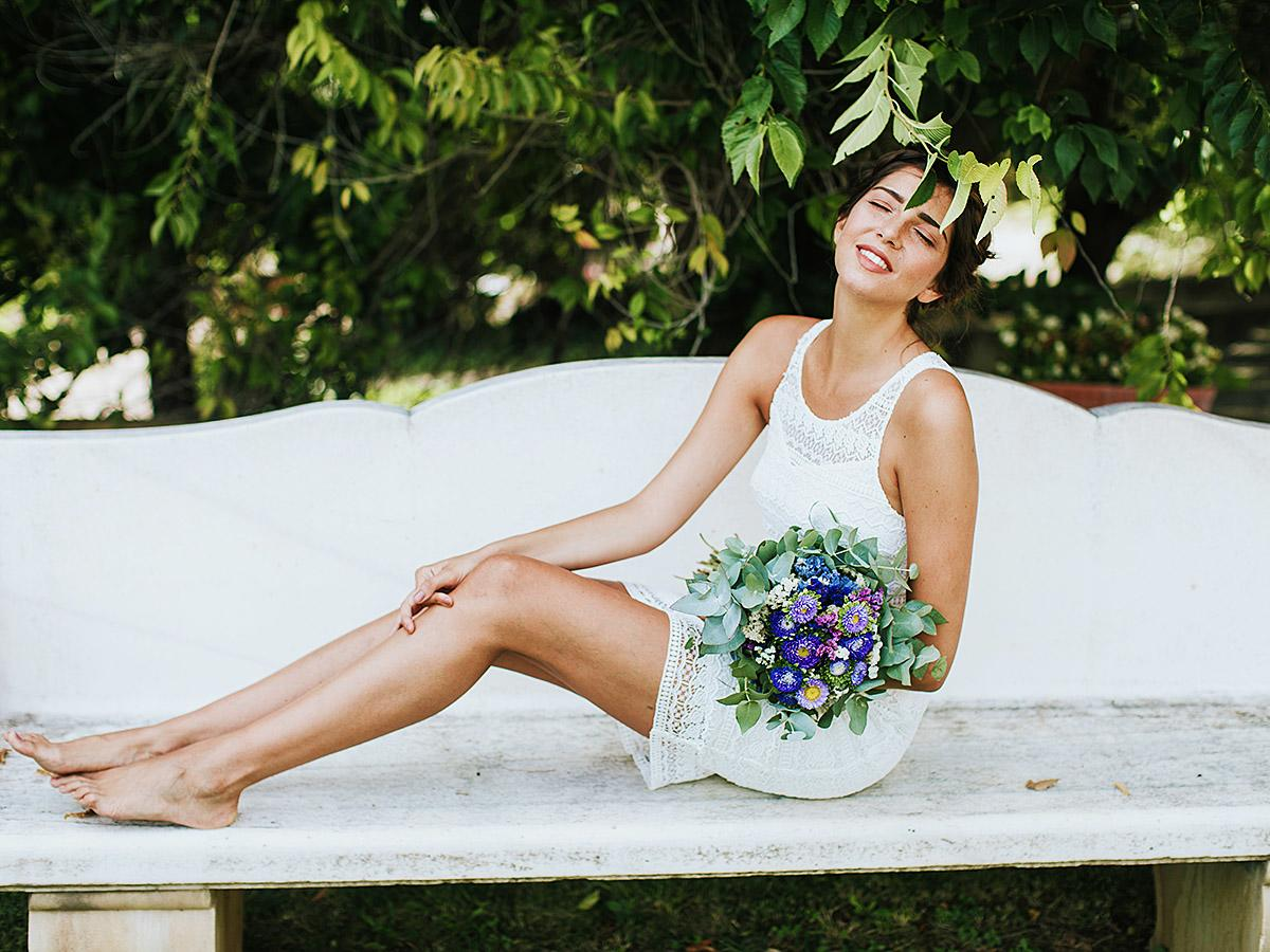 short wedding dresses featured