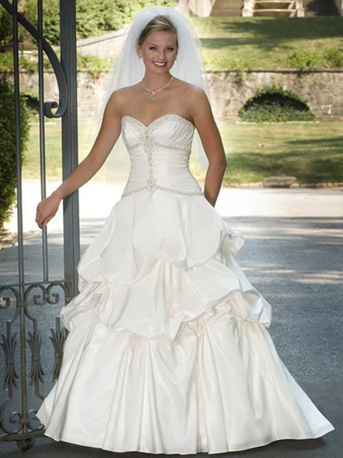 strapless wedding dresses for bride
