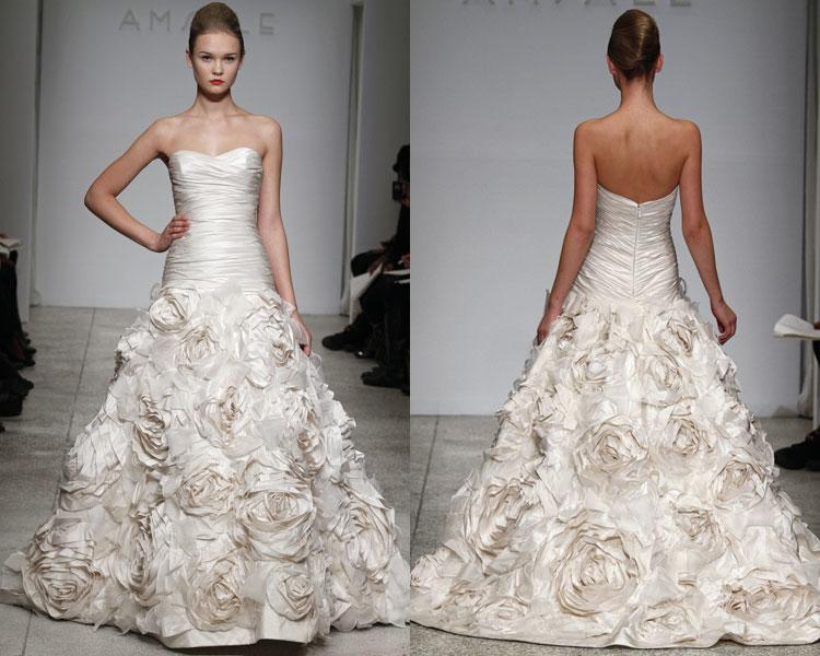 taffeta wedding dresses for bride