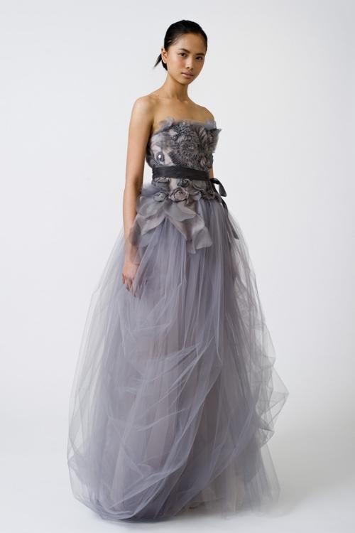 wedding dress color lilac