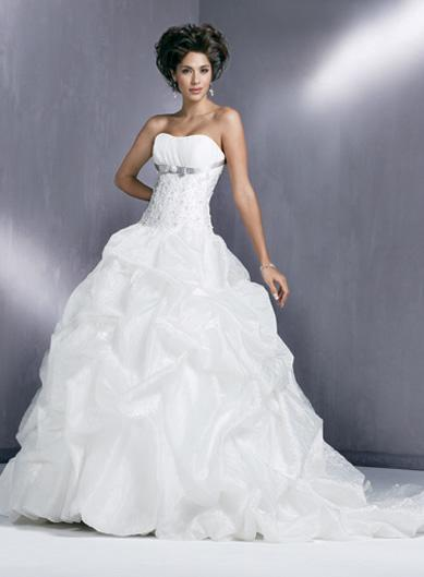 wedding dresses taffeta