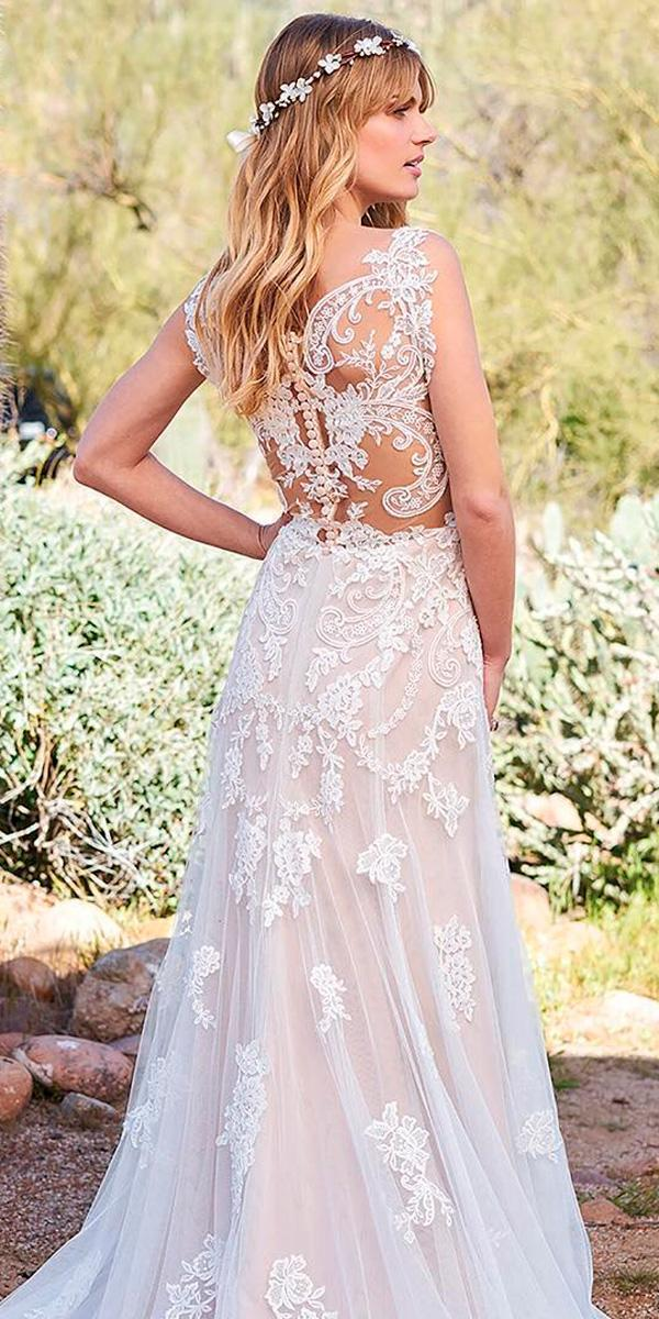 Western wedding dresses straight interesting lace backless for Lace western wedding dresses