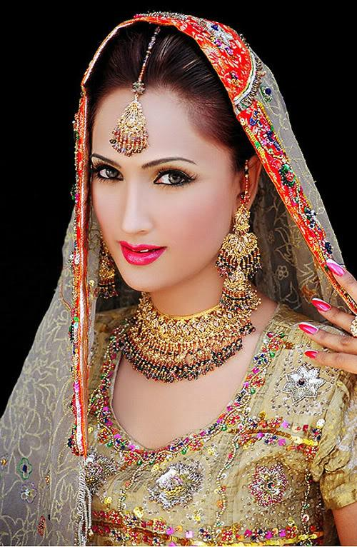 Bridal dresses in pakistan 2012