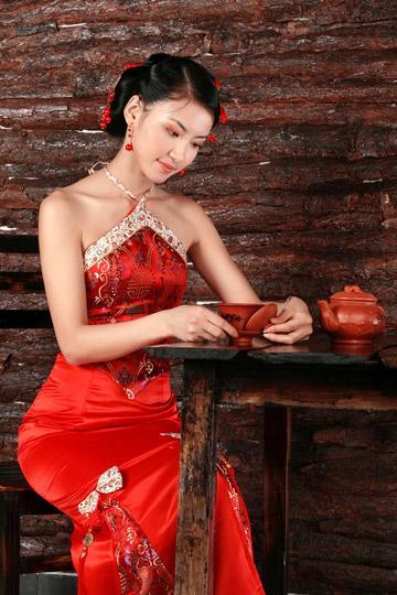 Chinese Wedding Dresses Idea