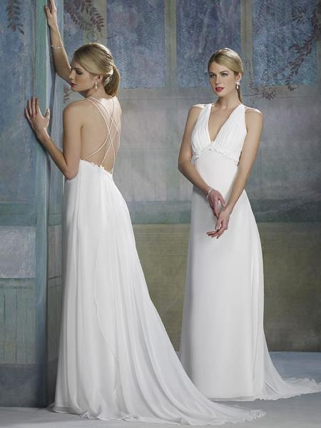 Column Bridal Dresses