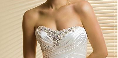 Column Wedding Dress For Bridal