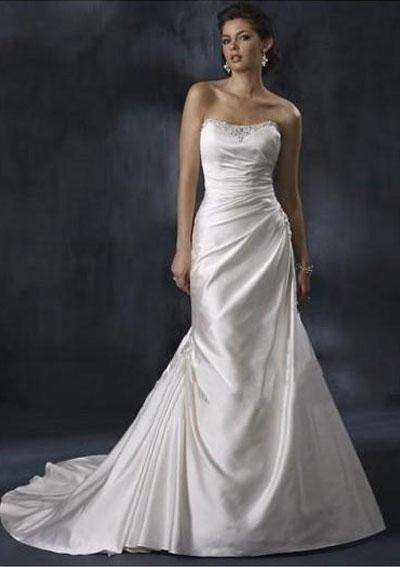 Column Wedding Dresses