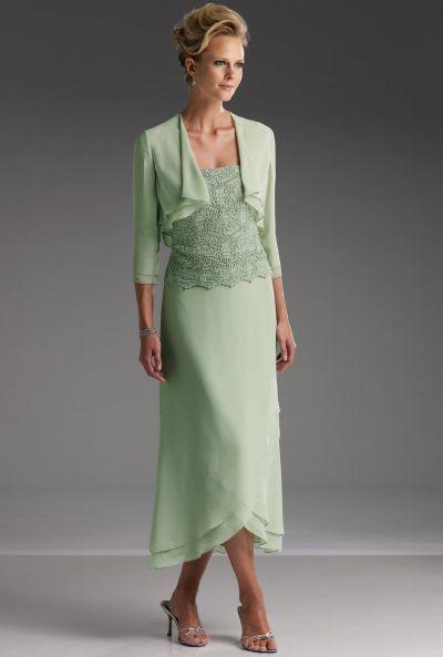 Mother Of The Bride Dresses Tea Length