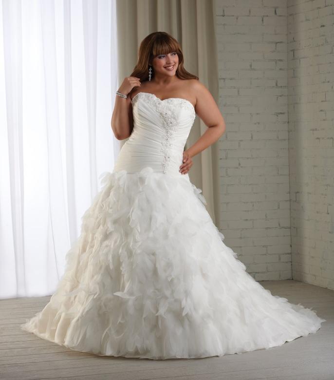 Plus Size Wedding Dress2012