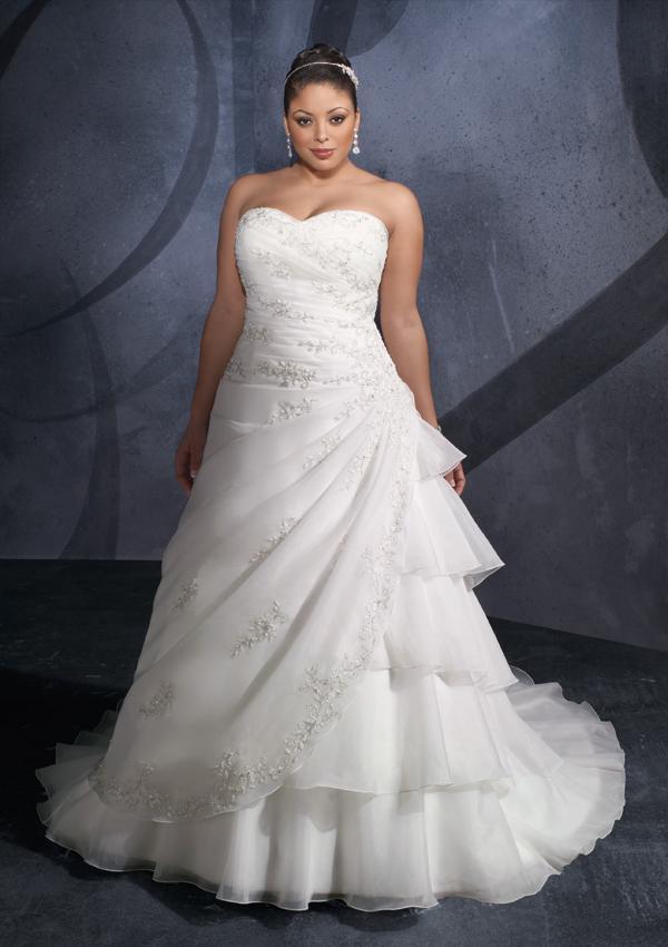 Plus Size Wedding Dresses Design