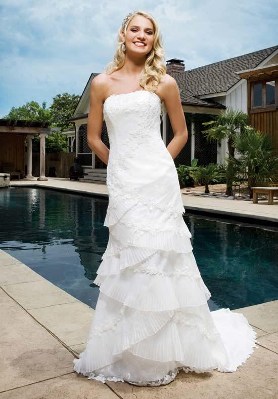 Style of Column Wedding Dress