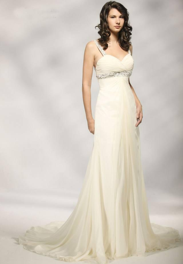 Sweetheart Column Wedding Dress