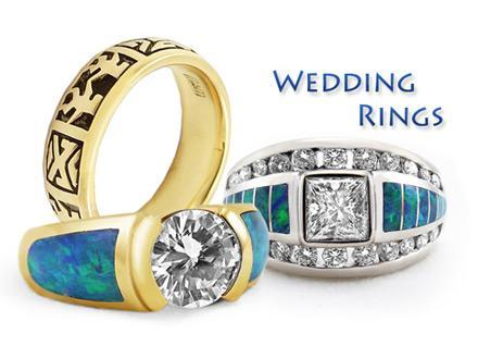 Western Wedding Rings Design