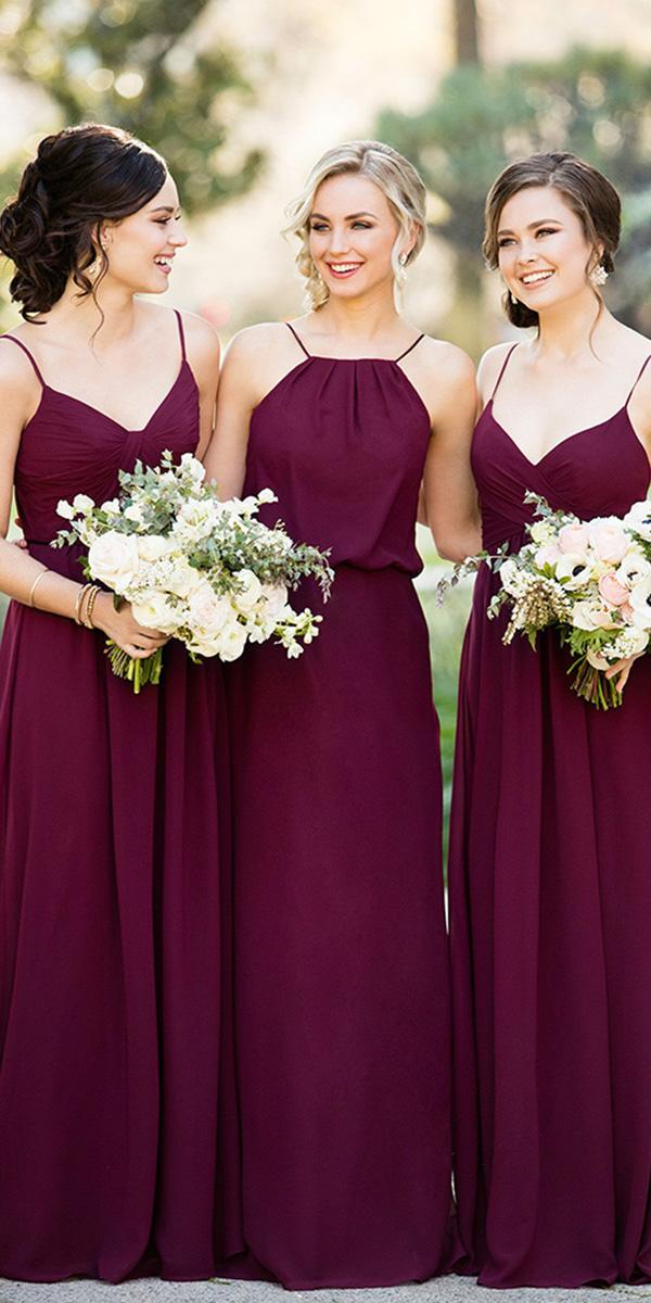 cheap bridesmaid dresses long burgundy with straps above 150 sorela vita