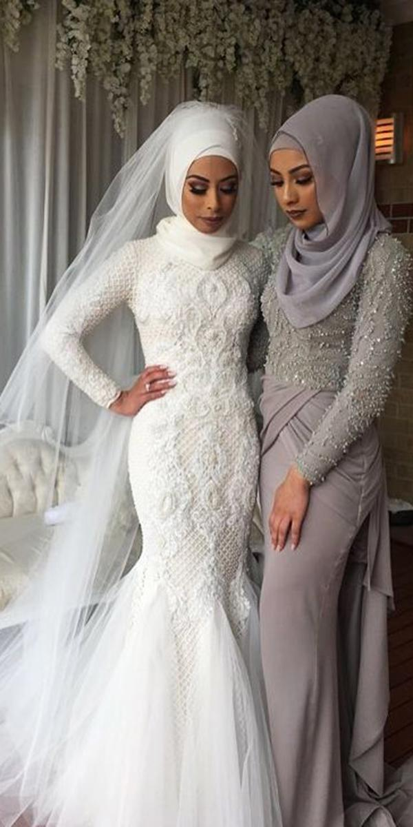 musim wedding dresses mermaid full lace white zian couture
