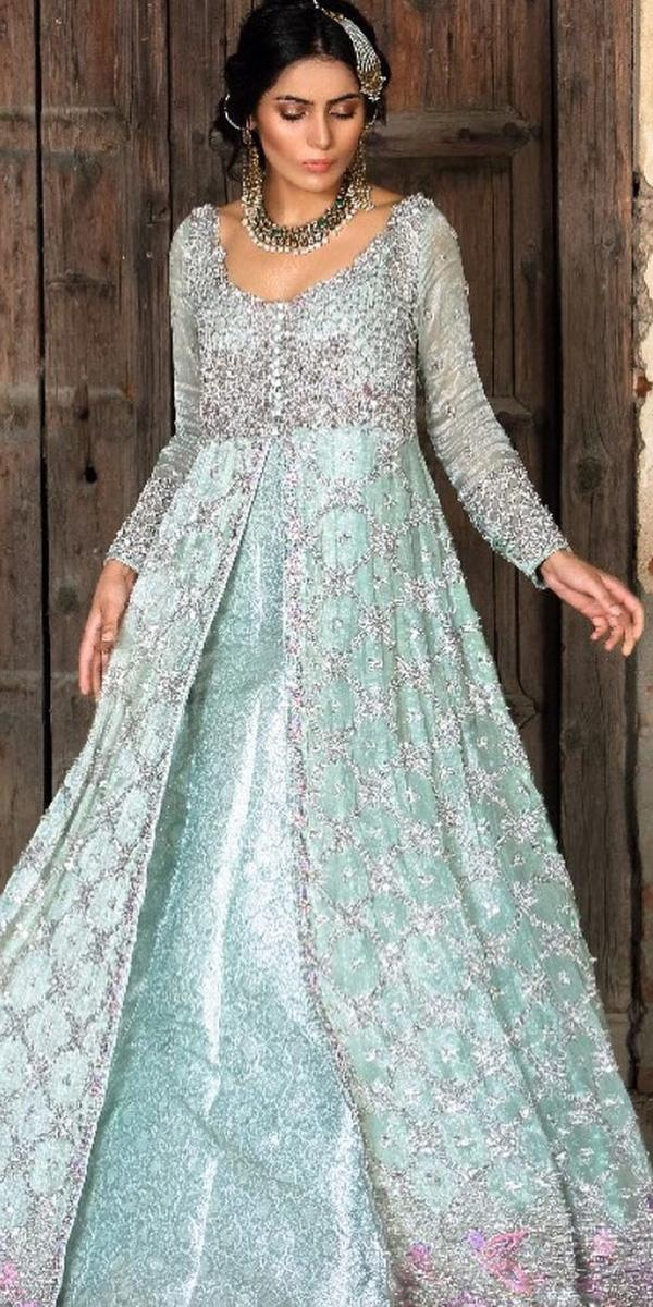 a927133858df Tsbridal Gold Ball Gowns Wedding Dresses Long Sleeves Muslim Wedding. 18 Of  The Most Exclusive Muslim Wedding Dresses Wedding Dresses Guide