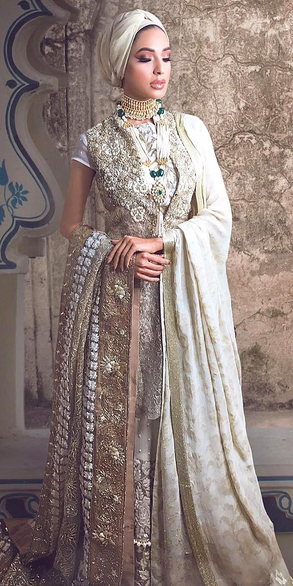 18 Of The Most Exclusive Muslim Wedding Dresses | Wedding Dresses Guide