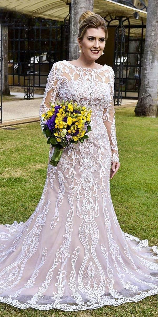 24 Graceful Plus Size Wedding Dresses Wedding Dresses Guide