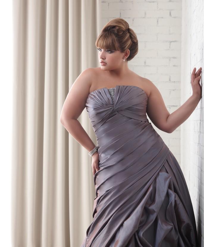 plus size women wedding dress