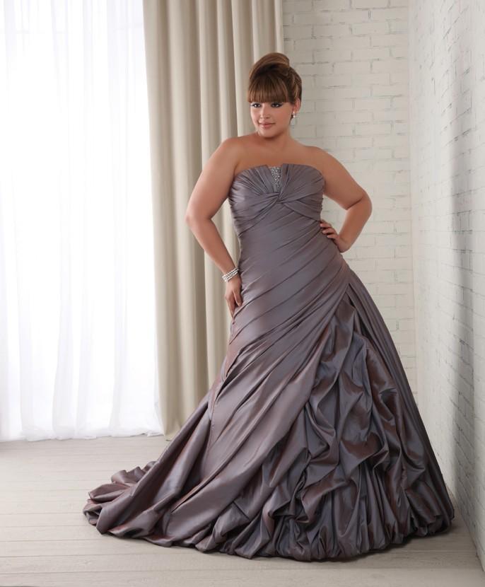 plus size women wedding dresses
