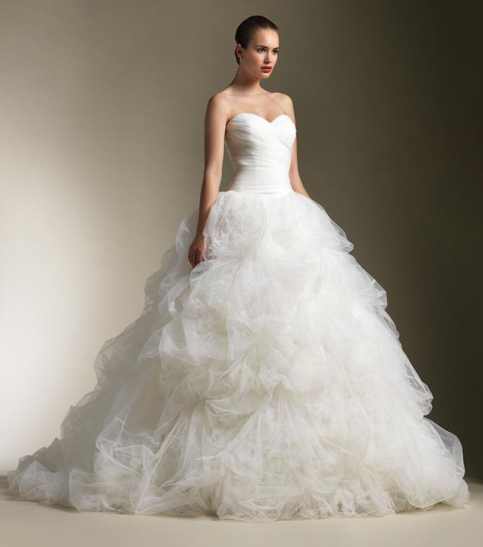 designer wedding dress 2012