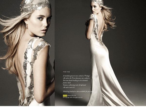 The fine art of wedding dress matching