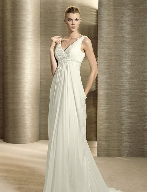 Images of Elegant White Gowns - Homeas