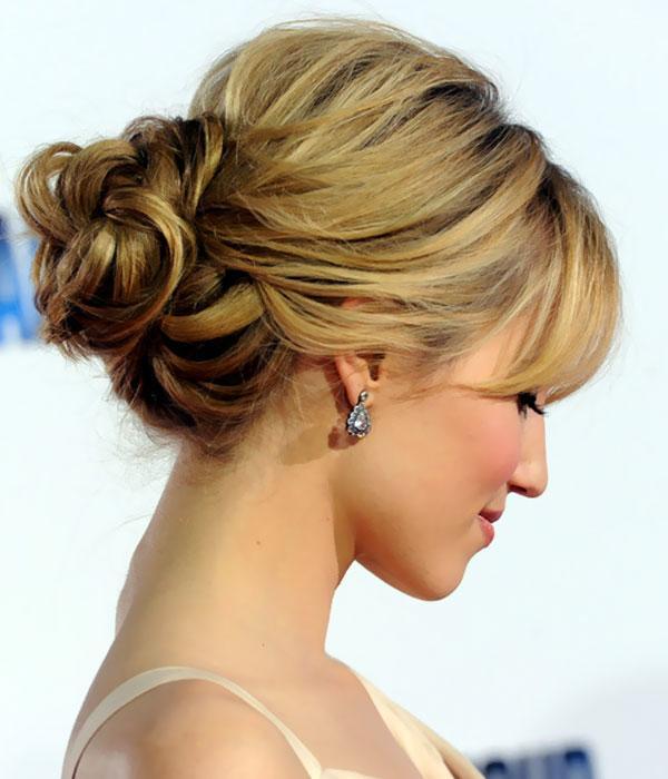 Elegant Bun Hair Styles1