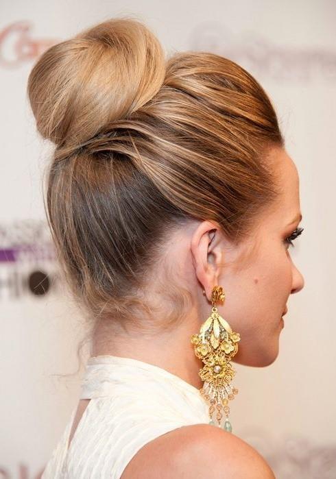 Elegant Hair Buns Styles Elegant Bun Hair Styles  Wedding Dresses Guide