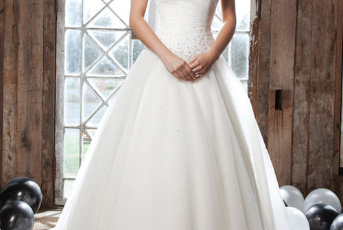 Bridal outfits with beautiful frills