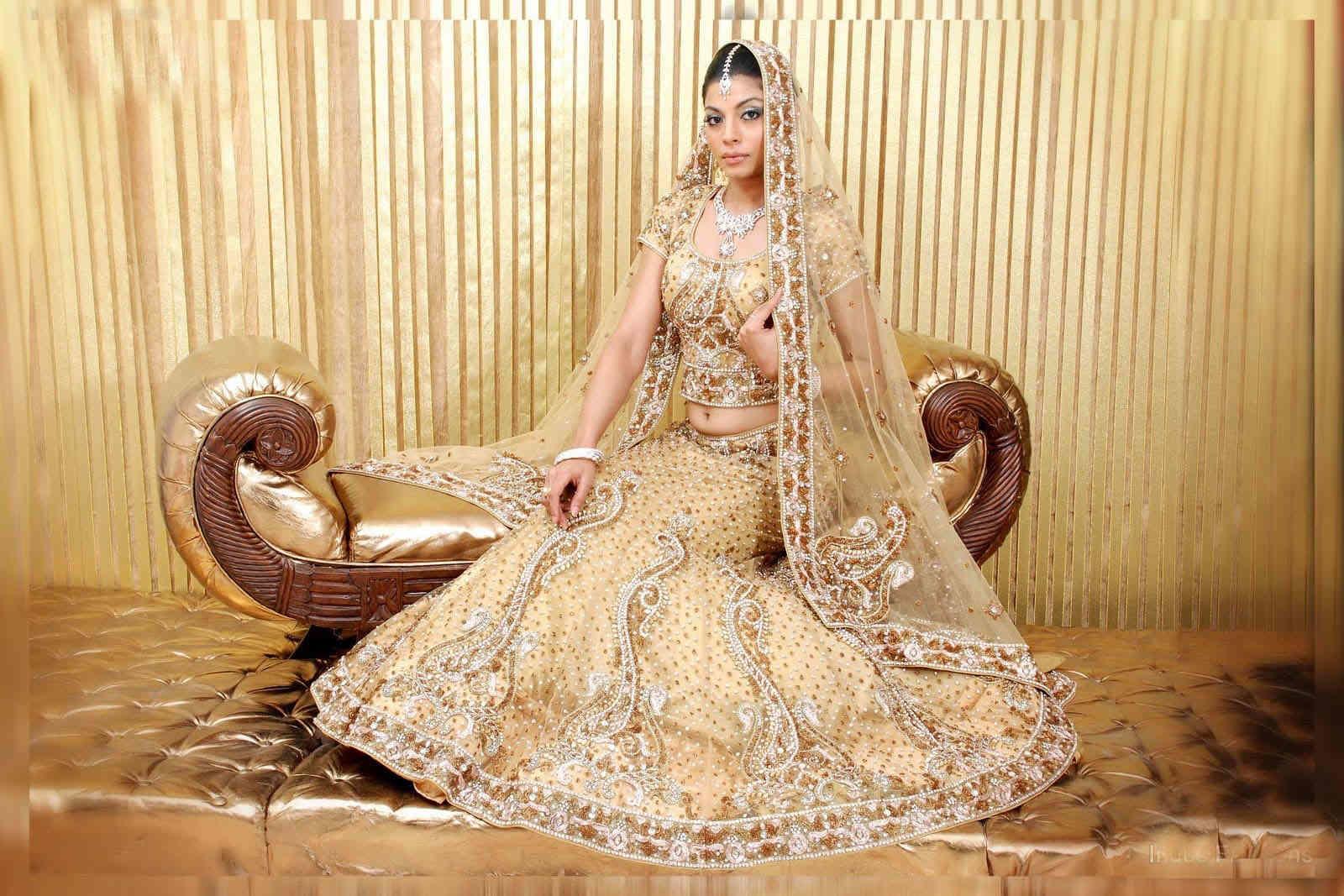 bridal-lehenga HD image