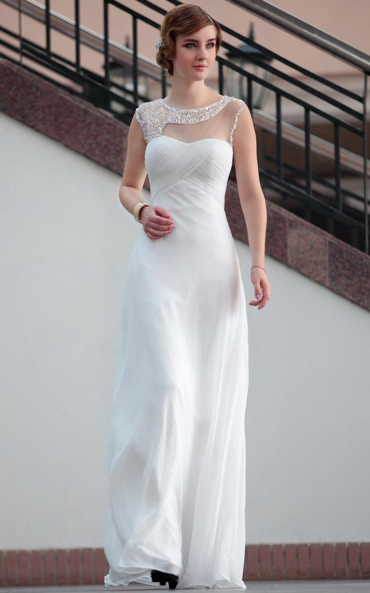 White elegant gowns2