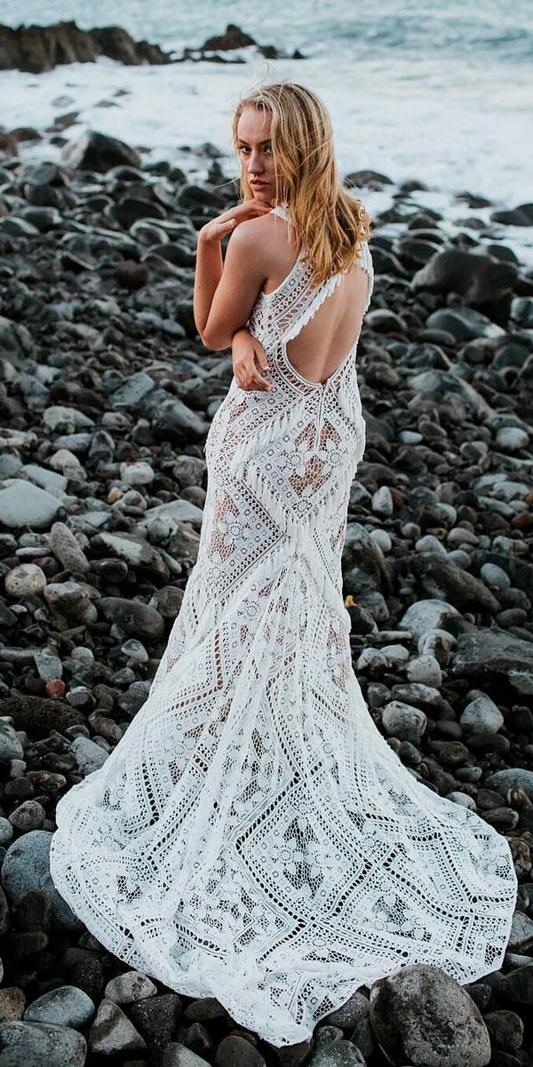 beach lace straight open backless wedding dresses billie jo and jeremy
