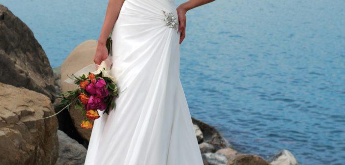 White Strapless Wedding Dresses
