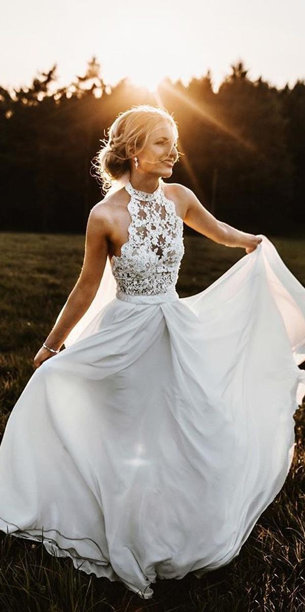 24 Rustic Wedding Dresses To Be A Charming Bride   Wedding ...