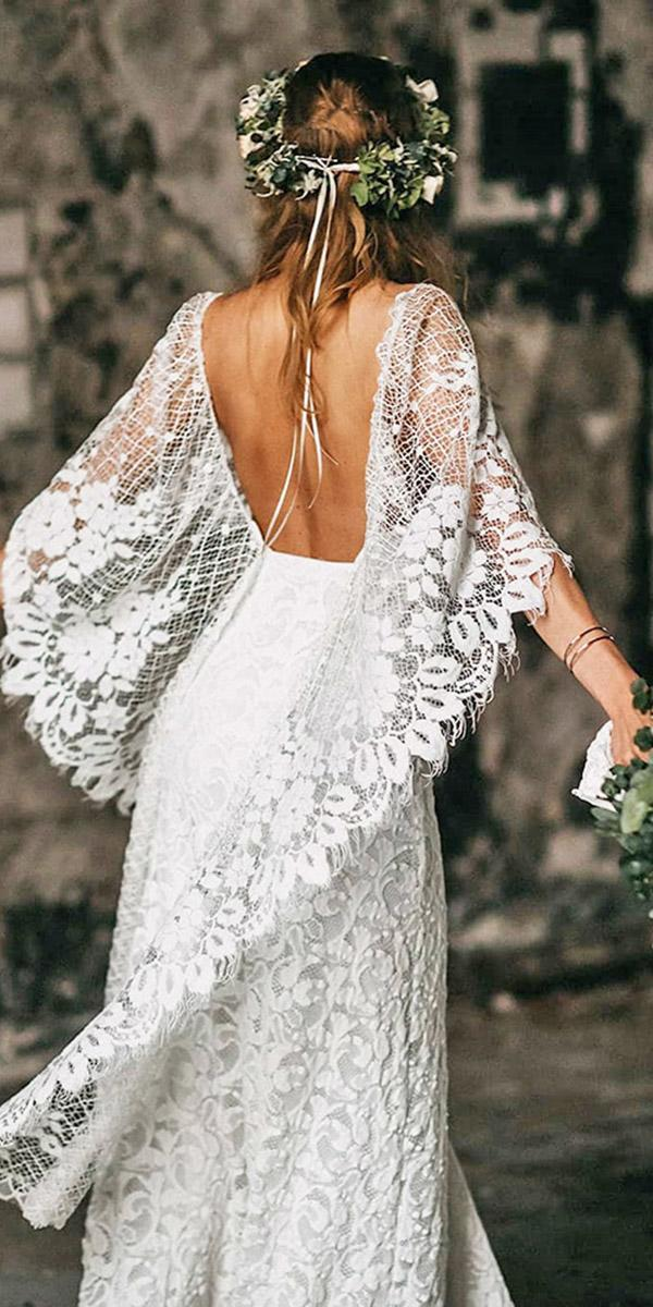 how to choose a wedding dress boho open back lace grace loves lace