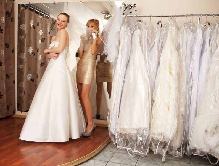 used wedding dresses featured
