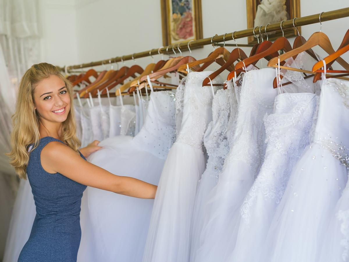 wedding dress cost shopping advice