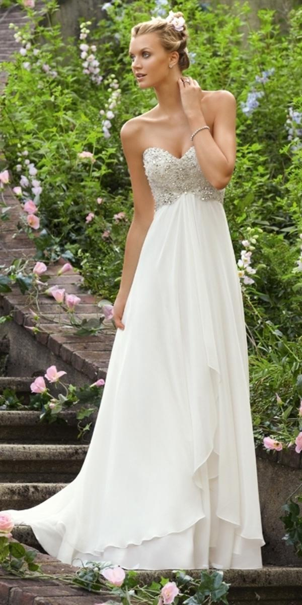wedding gown styles empire beaded sweetheart mori lee