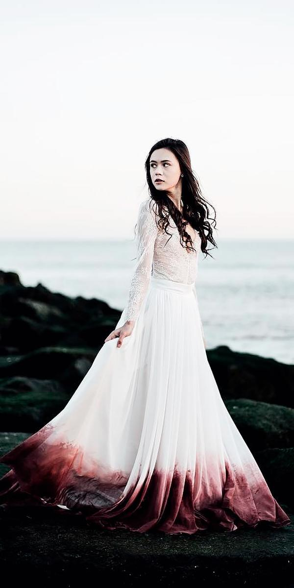 15 Colored Wedding Dresses To Make You A Stylish Bride