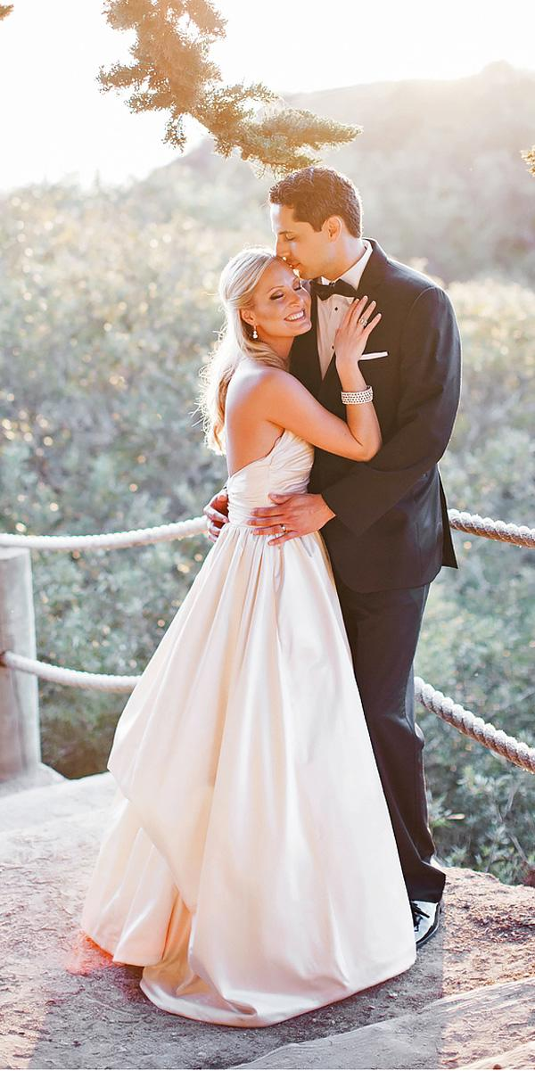 a line simple sweetheart rustic wedding dresses skyla walton