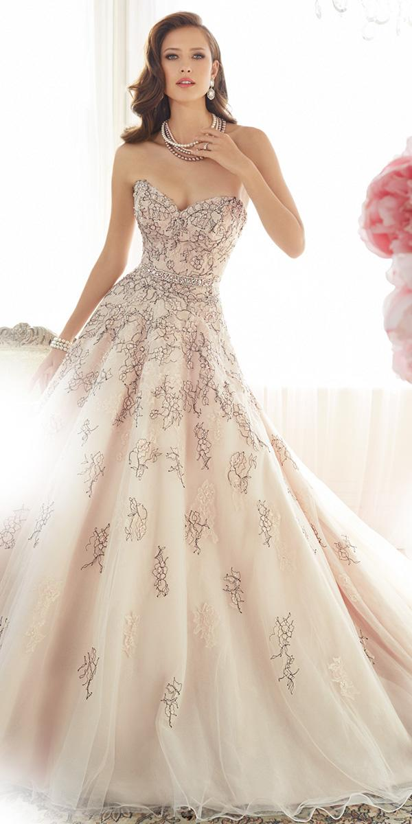 aline color sweetheart sophia tolli wedding dresses