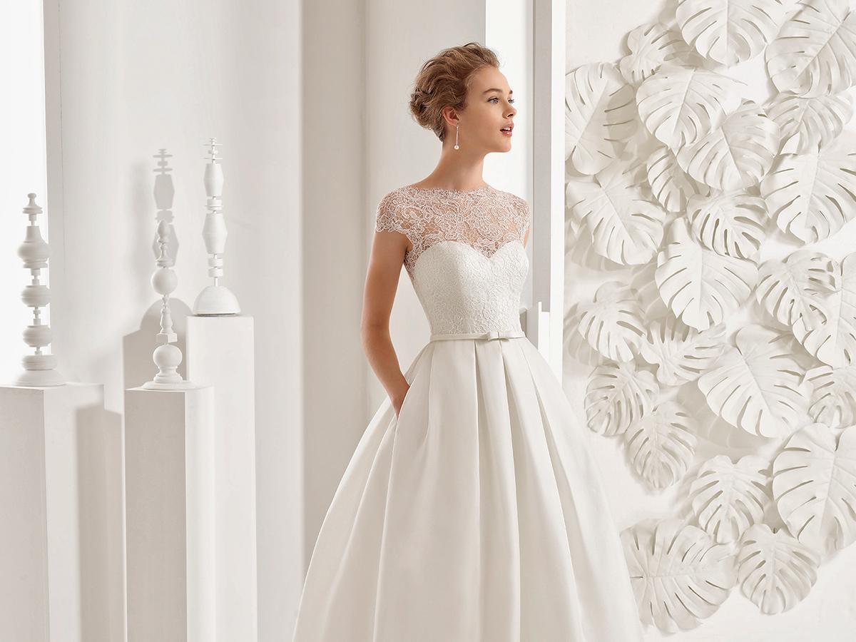 aline sweetheart rosa clara wedding dresses