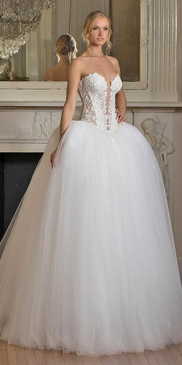 ball gown with sweetheart and strapless pnina tornai wedding dresses