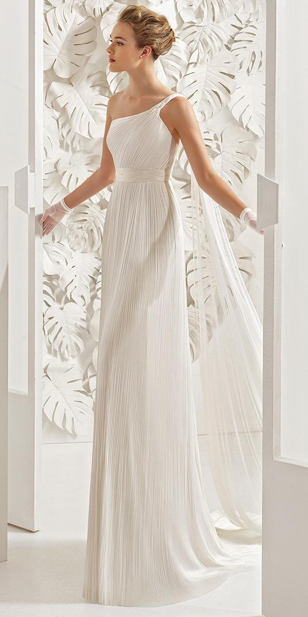empire greece style with belt rosa clara wedding dresses