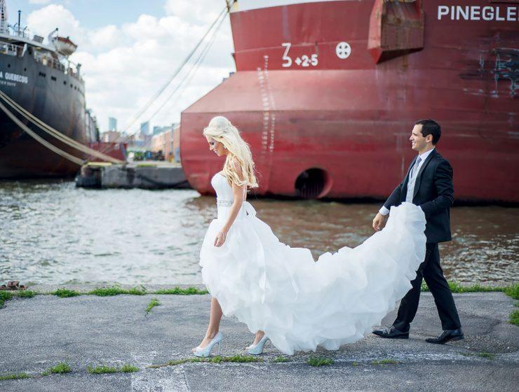 high low wedding dresses sara monika featured