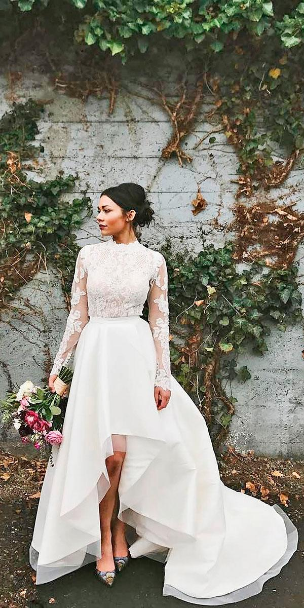 Trend Of The Year: 15 High Low Wedding Dresses