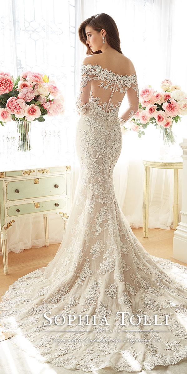 lace wedding dresses with sleeves by sophia tolli